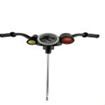 Handlebar w/Steering Column & Labels