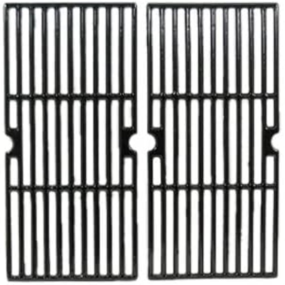 Porcelain Cast Iron Cooking Grill Set of 2 65022