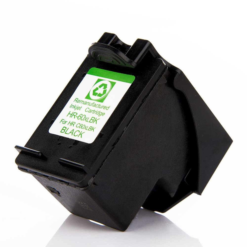 HP60XL Remanufactured CC641WN Black Ink Cartridge High Yield