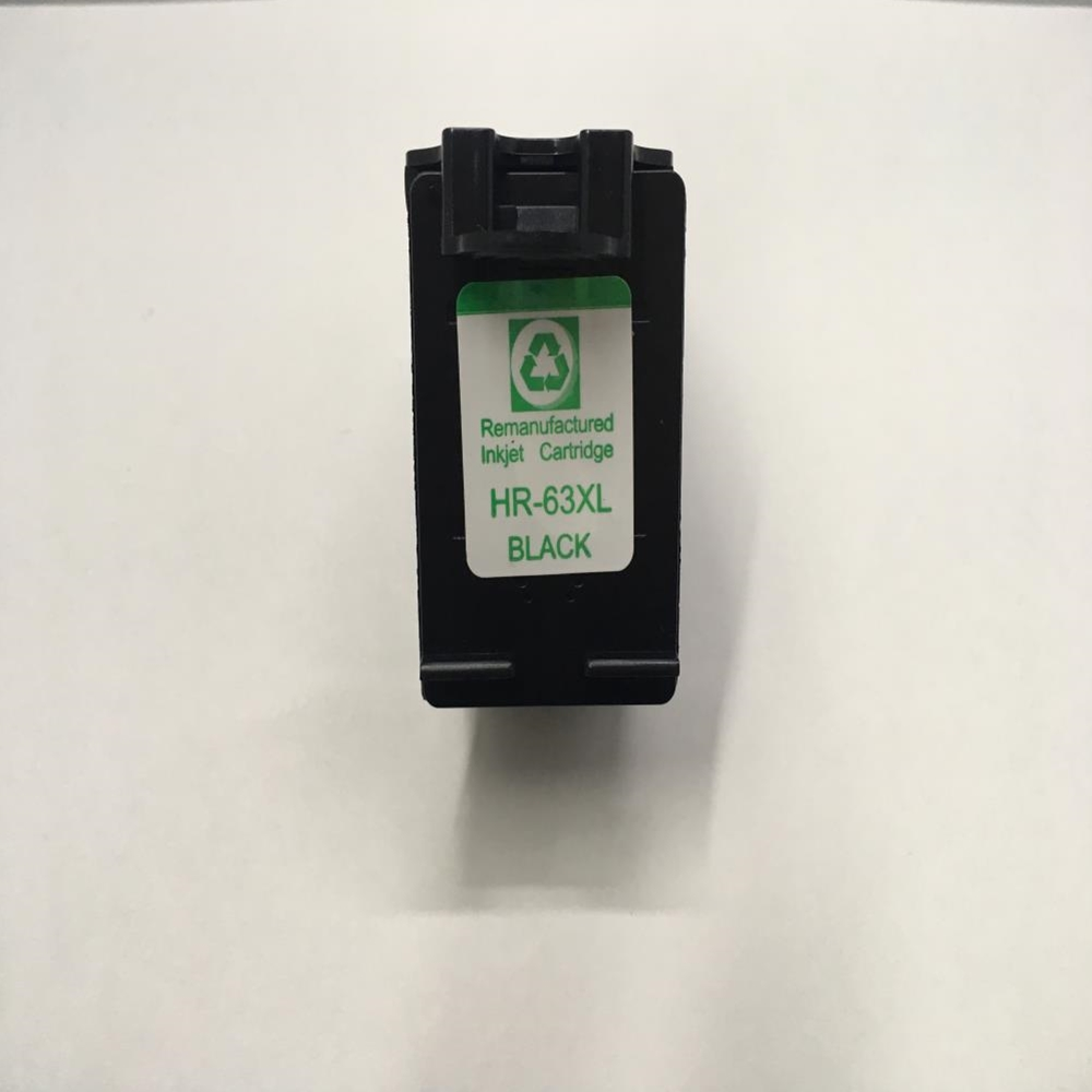 HP63XL Remanufactured F6U64AN Black Ink Cartridge High Yield