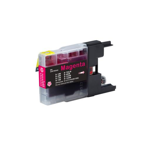 Brother LC75M Compatible Magenta Ink Cartridge High Yield