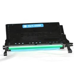 Samsung CLT-C508L Remanufactured Cyan Toner Cartridge High Yield