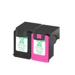 HP-62XL C2P05AN C2P07AN Black and Tri-color Compatible Ink Cartridge Combo High Yield