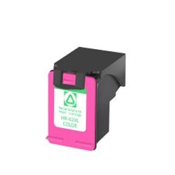 HP62XLC Remanufactured C2P07AN Tri Color Ink Cartridge High Yield