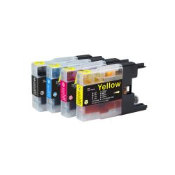 Ink Cartridge Combo LC75XL BK C M Y Compatible for Brother MFC-J6910CDW  J6710CDW J5910C C71